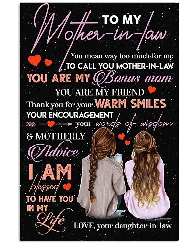 TO MY MOTHER-IN-LAW - THANK YOU