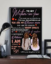 TO MY MOTHER-IN-LAW - THANK YOU 16x24 Poster lifestyle-poster-2