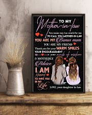 TO MY MOTHER-IN-LAW - THANK YOU 16x24 Poster lifestyle-poster-3