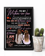 TO MY MOTHER-IN-LAW - THANK YOU 16x24 Poster lifestyle-poster-8