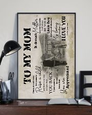 To My Mom - Farmer - Poster  16x24 Poster lifestyle-poster-2