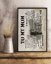To My Mom - Farmer - Poster  16x24 Poster lifestyle-poster-3