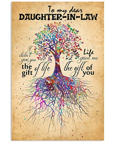 DAUGHTER-IN-LAW - TREE ROOTED - GIFT OF LIFE