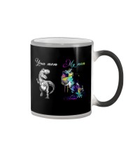 Your mom My mom Color Changing Mug thumbnail
