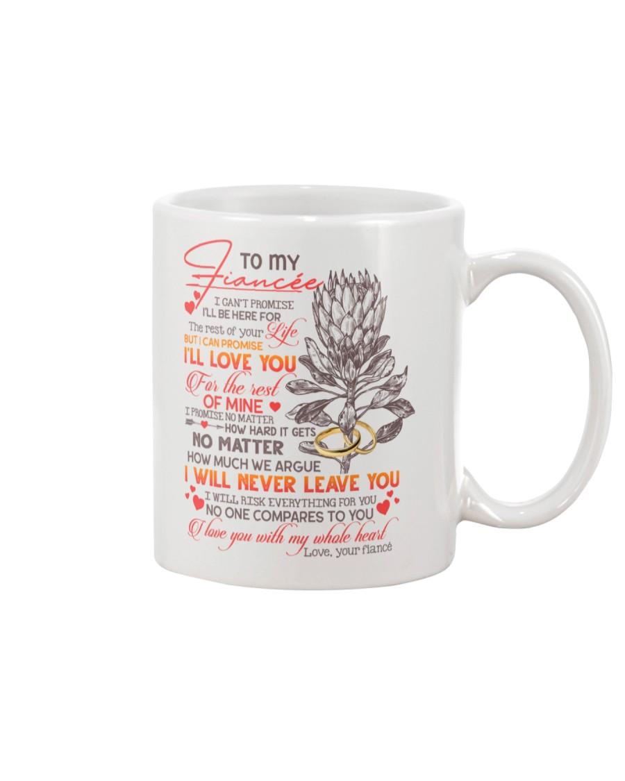 TO MY FIANCÉE - KING PROTEA - I LOVE YOU Mug