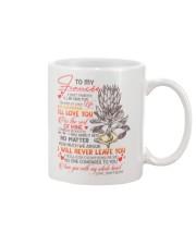 TO MY FIANCÉE - KING PROTEA - I LOVE YOU Mug front