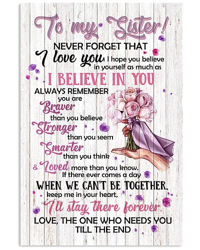 TO MY SISTER - FLOWERS - I LOVE YOU
