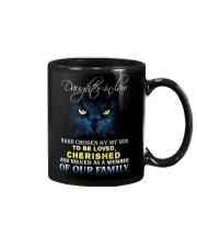DAUGHTER-IN-LAW - OWL - HAND CHOSEN BY MY SON Mug front