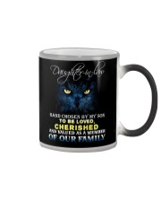 DAUGHTER-IN-LAW - OWL - HAND CHOSEN BY MY SON Color Changing Mug thumbnail