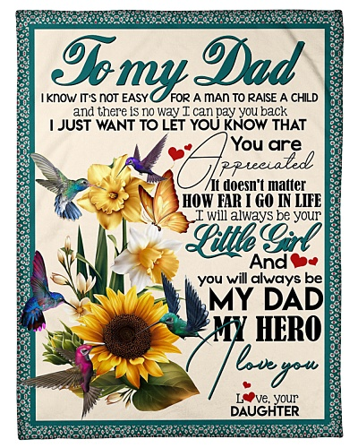 TO MY DAD - SUNFLOWER - MY HERO