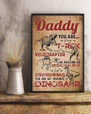 POSTER - TO MY DAD - MY FAVORITE DINOSAUR 16x24 Poster lifestyle-poster-3