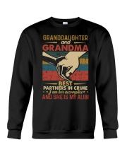 GRANDMA AND GRANDCHILDREN - TSHIRT Crewneck Sweatshirt thumbnail