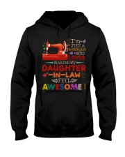 I'M JUST A WOMAN Hooded Sweatshirt tile