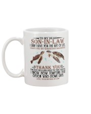 MOM TO SON IN LAW Mug back