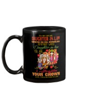 MUG - TO MY DAUGHTER-IN-LAW - HIPPIE - CROWN Mug back