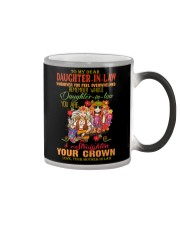 MUG - TO MY DAUGHTER-IN-LAW - HIPPIE - CROWN Color Changing Mug thumbnail