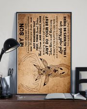 Dad To Son - This Life Is Not Easy - Poster 16x24 Poster lifestyle-poster-2