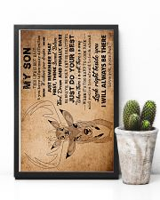 Dad To Son - This Life Is Not Easy - Poster 16x24 Poster lifestyle-poster-8