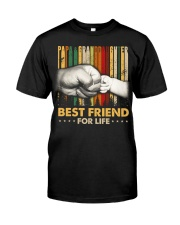 Papa and granddaughter Best friends for life Classic T-Shirt front