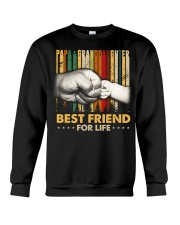Papa and granddaughter Best friends for life Crewneck Sweatshirt thumbnail