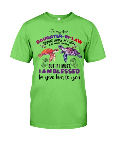 DAUGHTER-IN-LAW - TURTLE - I AM BLESSED TO GIVE
