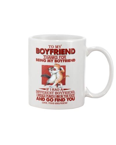 TO MY BOYFRIEND - CAT - I LOVE YOUf
