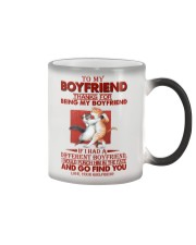 TO MY BOYFRIEND - CAT - I LOVE YOUf Color Changing Mug thumbnail