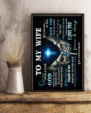 To Wife - Once Upon A Time God Knew - Poster 16x24 Poster lifestyle-poster-3