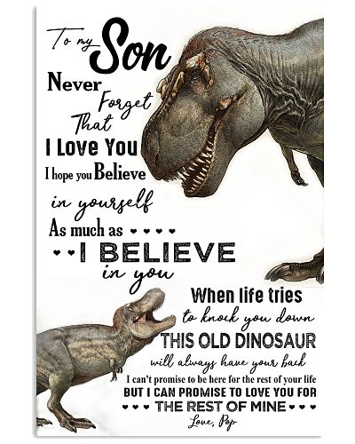 TO MY SON - DINOS - NEVER FORGET