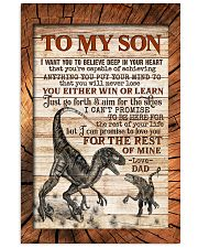 TO MY SON - RAPTORS - I WANT YOU TO BELIEVE 16x24 Poster front