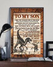 TO MY SON - RAPTORS - I WANT YOU TO BELIEVE 16x24 Poster lifestyle-poster-2