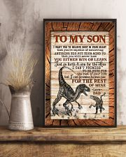 TO MY SON - RAPTORS - I WANT YOU TO BELIEVE 16x24 Poster lifestyle-poster-3