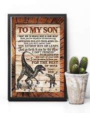 TO MY SON - RAPTORS - I WANT YOU TO BELIEVE 16x24 Poster lifestyle-poster-8