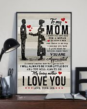 POSTER - TO MY MOM - YOU ARE APPRECIATED 16x24 Poster lifestyle-poster-2