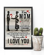 POSTER - TO MY MOM - YOU ARE APPRECIATED 16x24 Poster lifestyle-poster-8