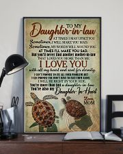 TO MY DAUGHTER-IN-LAW - TURTLE - I LOVE YOU 16x24 Poster lifestyle-poster-2