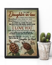 TO MY DAUGHTER-IN-LAW - TURTLE - I LOVE YOU 16x24 Poster lifestyle-poster-8
