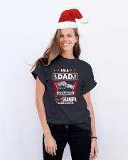 GRANDPA - DAD - TSHIRT Classic T-Shirt lifestyle-holiday-crewneck-front-1