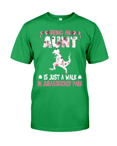 Being an aunt is just a walk in Jurasskicked Park
