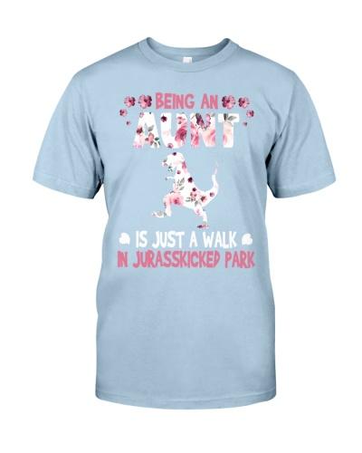 Being an aunt is just a walk in Jurasskicked Park