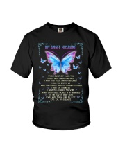T-SHIRT - MY ANGEL HUSBAND - BUTTERFLY - MISS YOU Youth T-Shirt thumbnail