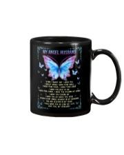 T-SHIRT - MY ANGEL HUSBAND - BUTTERFLY - MISS YOU Mug thumbnail