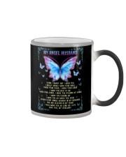 T-SHIRT - MY ANGEL HUSBAND - BUTTERFLY - MISS YOU Color Changing Mug thumbnail