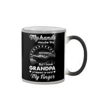 GIFT FOR MY GRANDCHILDREN - MY HANDS MAYBE TINY Color Changing Mug thumbnail