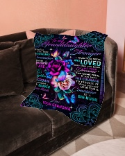 "Grandma to Granddaughter - All Your Dreams  Small Fleece Blanket - 30"" x 40"" aos-coral-fleece-blanket-30x40-lifestyle-front-05"
