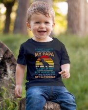GRANDSON  - I DON'T ALWAYS LISTEN TO MY PAPA Youth T-Shirt lifestyle-youth-tshirt-front-4