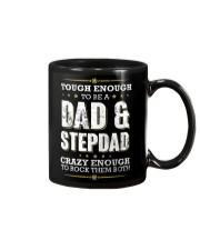 Tough enough to be a dad and stepdad Mug thumbnail