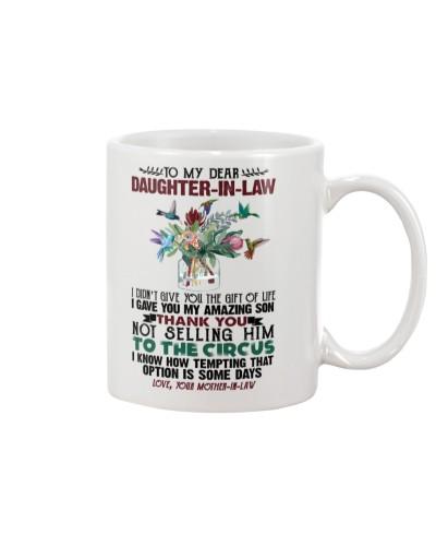 DAUGHTER-IN-LAW - PROTEA - HUMMINGBIRD - CIRCUS