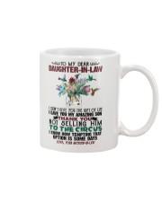 DAUGHTER-IN-LAW - PROTEA - HUMMINGBIRD - CIRCUS Mug front