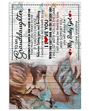 Grandma to Granddaughter - I Will Always Be 16x24 Poster front